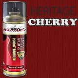 Heritage Cherry Nitrocellulose Guitar Paint / Lacquer Aerosol - 400ml