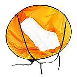 MagiDeal Kajak Wind Segel - 42 Zoll Windsegel Downwind Abwind Kajaksegel, Kanusegel, Boot Segel Sportsegel - Orange