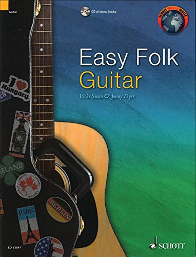Easy Folk Guitar: 29 Traditional Pieces (Schott World Music) por Jonny Dyer