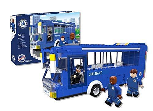Paul Lamond 7804 Nonostars Chelsea FC Team Bus Brick Bausatz, blau