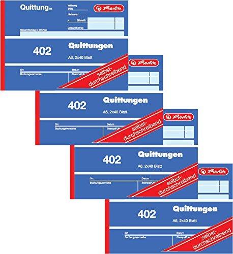 Quittungsblock Vergleich Ratgeber Infos Top Produkte