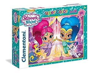 Clementoni - Maxi Puzzle de 24 Piezas Shimmer & Shine (24486)