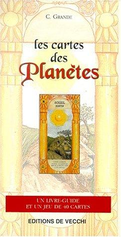 Les cartes des planètes. : Livre-guide et jeu de 40 cartes par C Grande