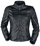 Gipsy Kina S18 LEGV Girl-Lederjacke schwarz S