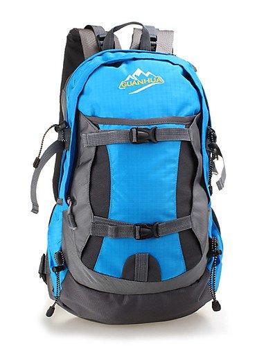 HWB/ 40 L Tourenrucksäcke/Rucksack / Travel Organizer Camping & Wandern Draußen Wasserdicht / Schnell abtrocknend / tragbar / Atmungsaktiv Yellow