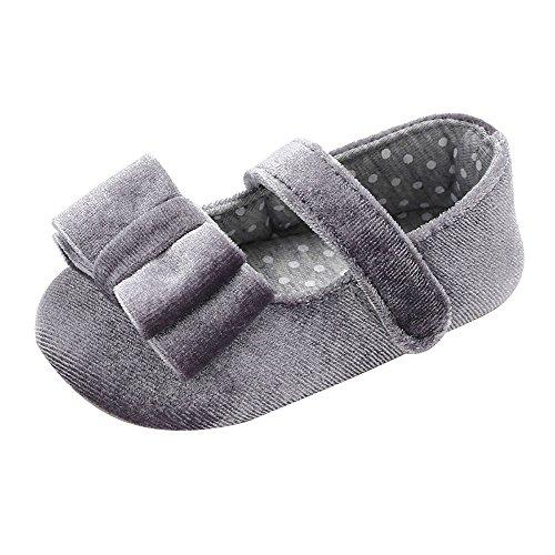Binggong Chaussures Bébé Chaussures Bébé Nouveau-né Chaussures Chaussures Bebe en Cuir Souple, Chaussons Bebe Filles Garcons Premiers Pas pour 0-6, 6-12, 12-18Mois