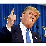 Plakat Poster Donald Trump Präsident Usa Finger Nach Oben(77cmx91cm)