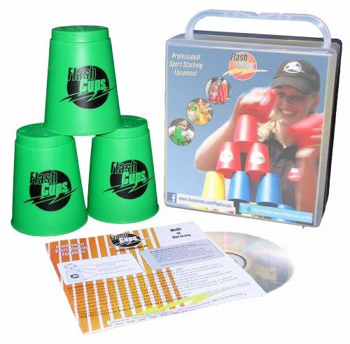 Flash Cups 1005GRÜN - FlashCups grün, i. Btl., mit DVD