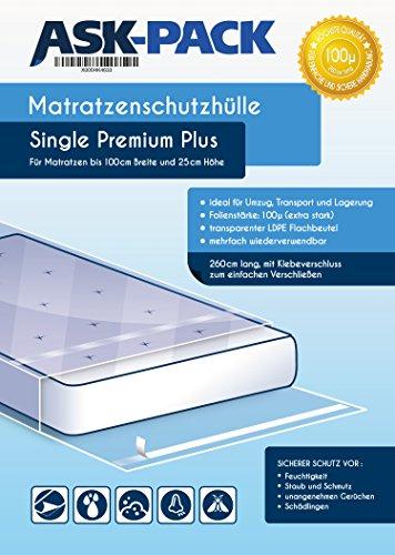 Zoom IMG-1 custodia materasso premium single per