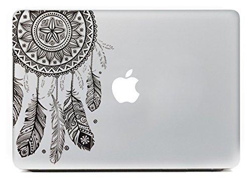 """Vati fogli smontabili Dream Catcher Migliore vinile della decalcomania di arte della pelle nero perfetto per Apple Macbook Pro Air Mac 11 """"pollici / Unibody 11 Inch Laptop"""