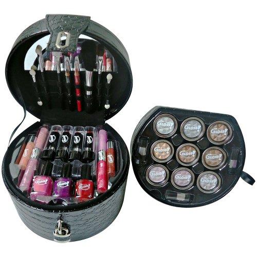 Gloss! Mallette de Maquillage Glam's Noir 35 Pièces 8 g