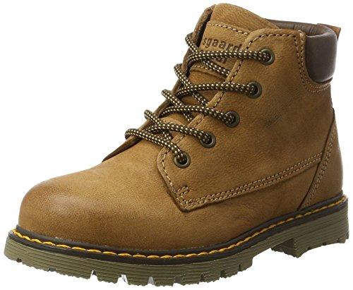 Bisgaard Unisex-Kinder Schnürstiefel Combat Boots, Braun (502 Cognac), 39 (Combat Kinder Boots)