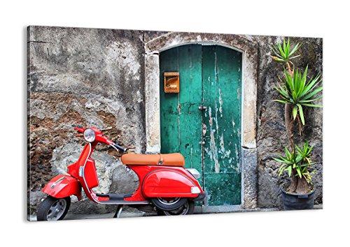 Cuadro sobre lienzo - de una sola pieza - Impresión en lienzo - Ancho: 120cm, Altura: 80cm - Foto número 2571 - listo para colgar - en un marco - AA120x80-2571