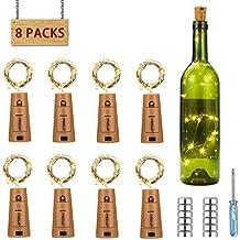 luz de botella, luz de bricolaje, luz ambiente, lámpara decorada, Súper brillante