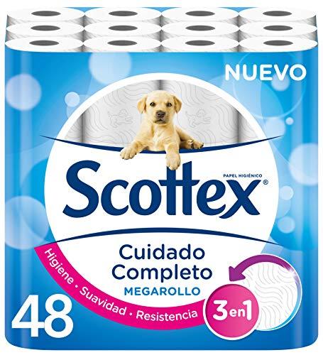 48 rollos de papel higiénico Scottex Megarollo por 21,70€ ¡¡19% de descuento!!