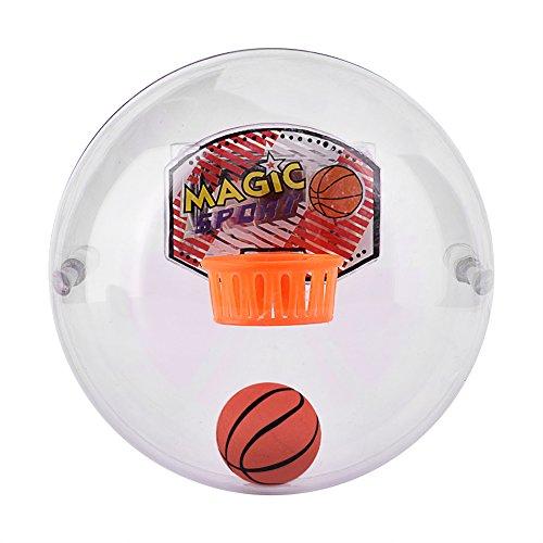 Zerone Mini Handheld Basketball Shooting Spiel Entspannen Spielzeug Stress Relief Handgelenk und Palm Übung, Schießen Ball Shooting Sound LED Leuchten und Musik