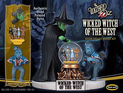 Polar Lights 942 The Wizard of Oz Wicked Witch of the West Resin 1:8 Scale Figure Model Kit - Pre-Painted! by Polar Lights - Pre-painted Kit