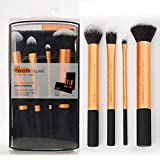 #9: Zafos Real Technique Cosmetic Makeup Brush Set - 4 Piece Set With Storage Pouch