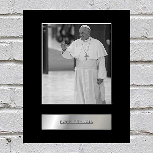 Papst Franziskus montiert Foto Display