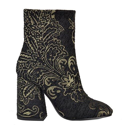 Ash Footwear Fedora Boots a Talons en Noir Femme