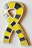 Bufanda de estilo Retro este pífano dorado pins