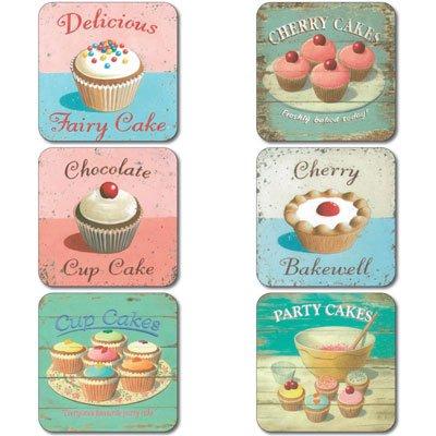 martin-wiscombe-tapis-dessous-de-verre-fairy-cakes-impression-lot-de-6