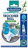 Dr. Beckmann Trockner della Palla con 50ML di profumo (all' asciugatrice e Ball con lamelle Noppen della tecnologia, Biancheria, asciugatrice, tessuti, profumo)