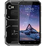 "Ken Xin DA W9 4G LTE Smartphone Diplay 6.0"" Uncloked Dual-Sim, 8MP+5MP Camera, 2GB RAM+16GB ROM,Battery 4000mAh, Andoid 5.1, Waterproof, Dustproof (Black+Grey)"