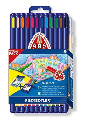 Staedtler 61 SET P3 - Ergo soft Farbstift 157 und Triplus Color 323 Promotion