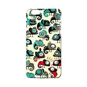 BLUEDIO Designer 3D Printed Back case cover for Apple Iphone 6/ 6s - G6501