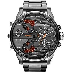 Diesel DZ7315 - Reloj de pulsera para Hombre, negro/gris