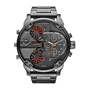 Diesel-Reloj-Multiesfera-para-Hombre-de-Cuarzo-con-Correa-en-Acero-Inoxidable-DZ7315