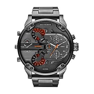 Diesel Reloj Multiesfera para Hombre de Cuarzo con Correa en Acero Inoxidable DZ7315