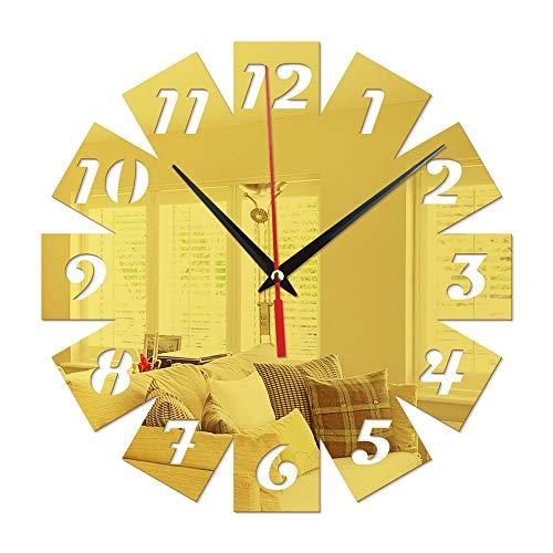 Décoration de la maison LEotiE SINCE 2004 Rétro Décoration Horloge Murale Bonne journée Plexiglas