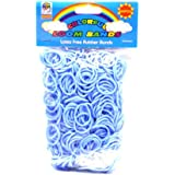 Loom Bandz - Rainbow Colours - Light Blue 600 Count