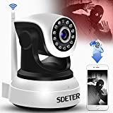 Surveillance Camera WiFi Sdeter Wireless Security IP Camera WiFi Home Surveillance 720P Night Vision CCTV Camera IP Onvif P2P Baby Monitor Indoor Webcam Pâle