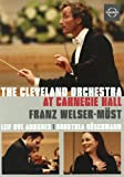 The Cleveland Orchestra at Carnegie Hall [Import italien]
