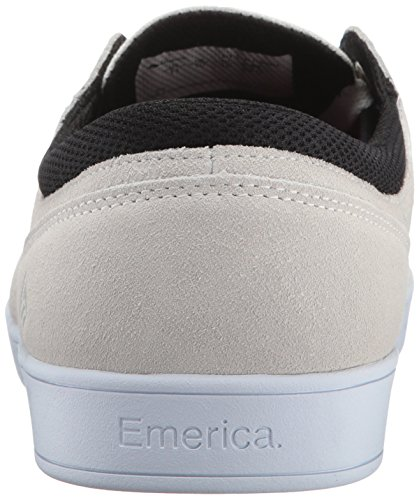 Emerica La Figueroa, Scarpe De Skateboard Da Uomo Blanc / Blanc / Noir