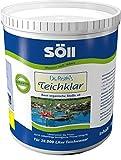 Söll 10073 Dr. Roth´s TeichKlar - Unterstützt die Natur durch natürliche, mikrobiologische Reinigung und Pflege des Wassers - 1 kg