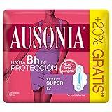 Ausonia Super Compresas con Alas - 12unidades