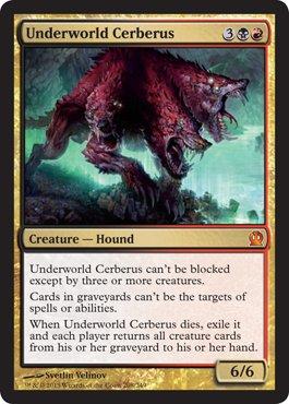 Magic: the Gathering - Underworld Cerberus - Cerbero dell'Ade - Theros