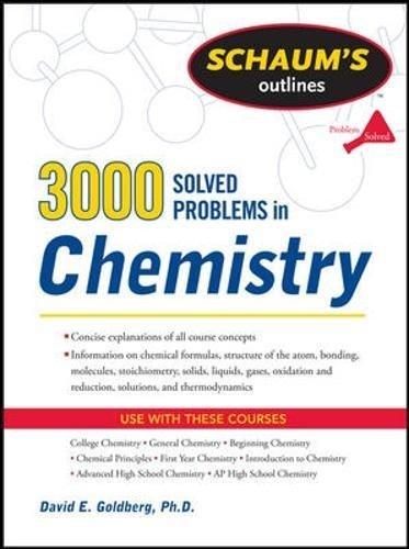 PDF] 3,000 Solved Problems In Chemistry (Schaum's Outlines) BOOK