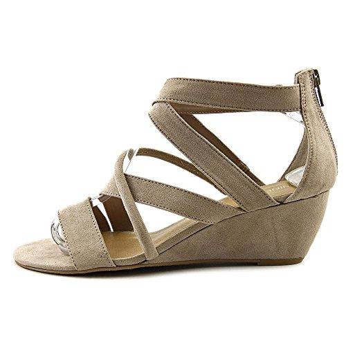 Nine West Hazel3y Textile Gladiator Sandale Taupe