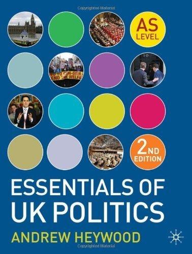 Portada del libro Essentials of UK Politics (As Level) by Andrew Heywood (2011-07-26)