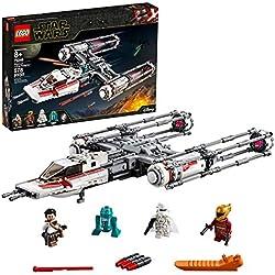 LEGO®-Star WarsTM Y-Wing StarfighterTM de la Résistance Jouet Enfant à Partir de 8 ans, 578 Pièces à Construire 75249