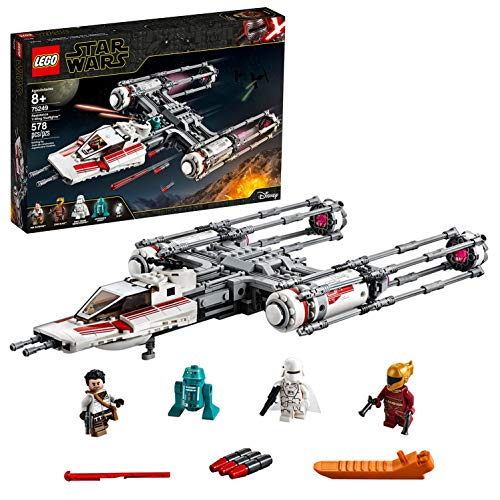 LEGO 75249 Star Wars Resistance Y-Wing Starfighter Battle Starship Building Set, The Rise of Skywalker Movie Collection, Multicolour Best Price and Cheapest