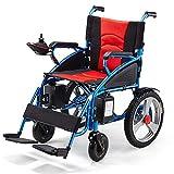 RDJM Elektrischer Rollstuhl, Intelligente Automatische,Faltbar, Frei-Reiten, 20A-Lithiumbatterie konfigurieren
