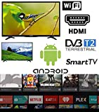 "SMART TV 32 pollici Android Arielli Display 32"" Led - 1366x768 HD ready - Smart TV Wifi integrato - HDMI, USB - GARANZIA ITALIA"