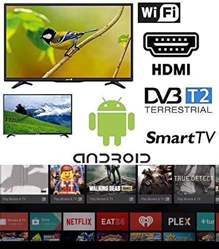 SMART TV 32 pollici Android Arielli Display 32' Led - 1366x768 HD ready - Smart TV Wifi integrato - HDMI, USB - GARANZIA ITALIA