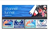 CHANNEL TUNNEL PRESENTATION PACK Royal Mail Mint British Collector Stamps in Presentation Pack - 1994 *** MNH ** No. of Stamps: 4 *** Guaranteed Brand New, Well-Packaged, Gift-Wrapped Free